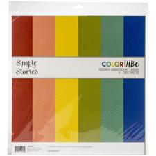 "Simple Stories Color Vibe - Paper Pack 12x12"" / Bold"