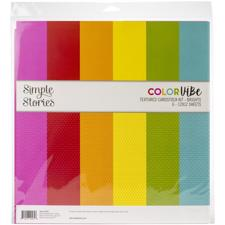 "Simple Stories Color Vibe - Paper Pack 12x12"" / Brights"