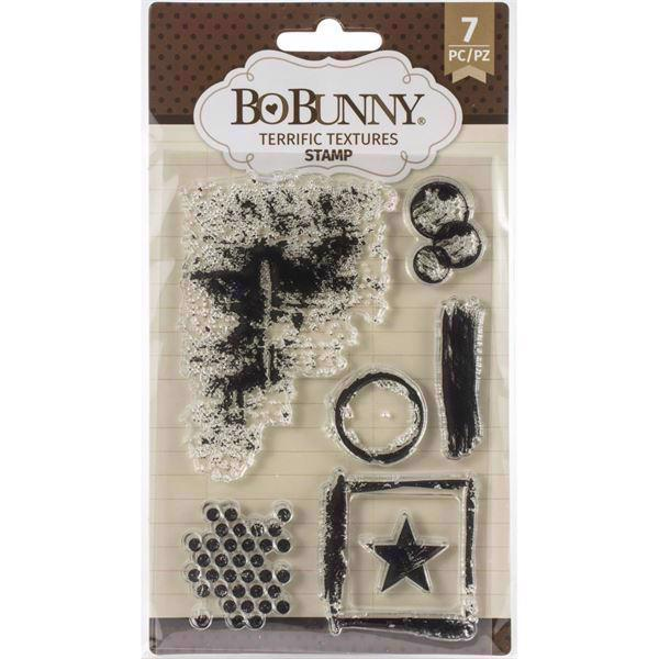 Clear Stamp Set - Bo Bunny / Terrific Textures