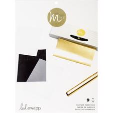 "Heidi Swapp Minc Surface Pad - Assorted Surfaces 8.5""X11"" (9/Pkg)"