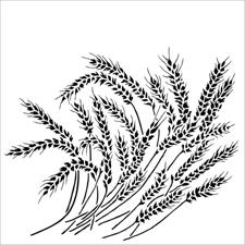 "Crafter's Workshop Template 12x12"" - Wheat Stalk"
