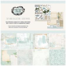 "49 and Market Collection Pack 12x12"" - Vintage Artistry Sky"