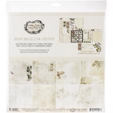"49 and Market Collection Pack 12x12"" - Vintage Artistry Natural"