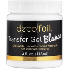 iCraft Deco Foil - Transfer Gel BLANCO