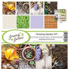 "Reminisce Collection Pack 12x12"" - Growing Garden"