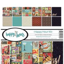 "Reminisce Collection Pack 12x12"" - Happy Hour"