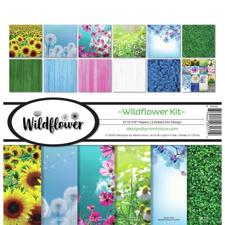 "Reminisce Collection Pack 12x12"" - Wildflower"
