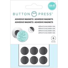 WRMK Button Press - Adhesive Magnets 6/Pkg