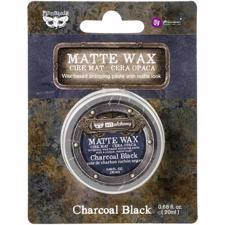Finnabair Art Alchemy MATTE Wax - Charcoal Black