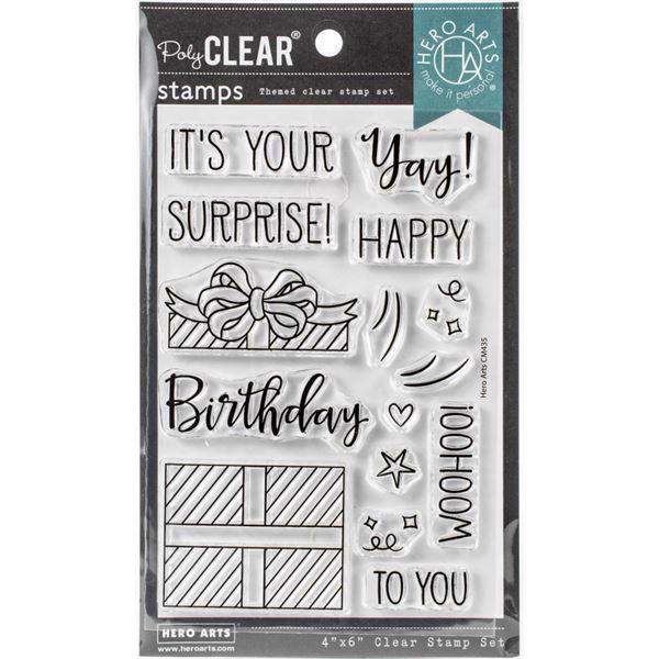 Hero Arts Clear Stamps - Surprise Gift