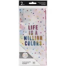 Happy Planner - Planner Envelopes / Life Is A Million Colors
