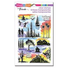 Stampendous Clear Stamp Set - Sunrise Sunset