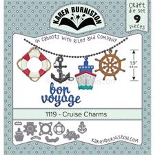 Karen Burniston Die - Cruise Charms