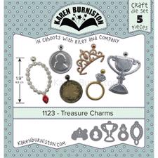 Karen Burniston Die - Treasure Charms