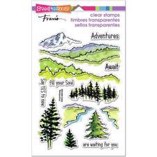Stampendous Clear Stamp Set - Adventure Awaits