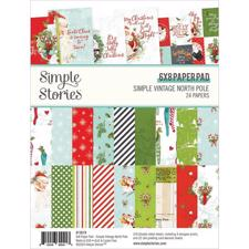 "Simple Stories Paper Pad 6x8"" - North Pole"