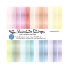 "My Favorite Things Paper Pad 6x6"" - Petite Gingham"