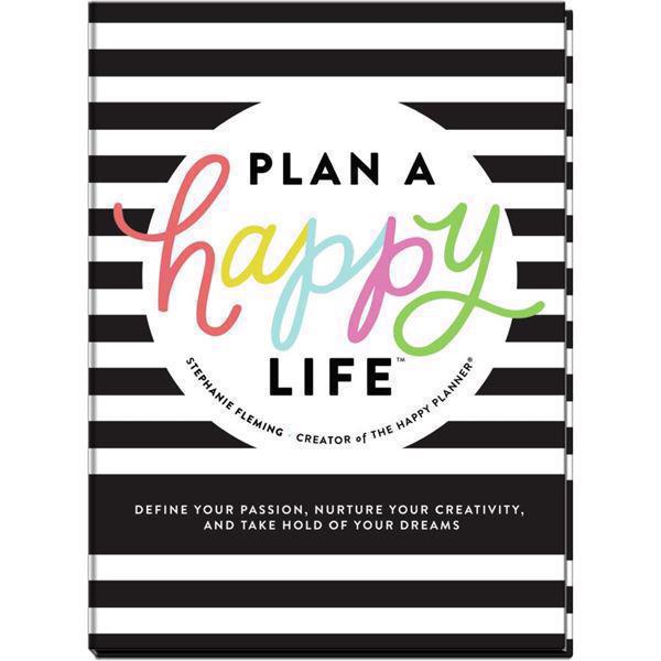 Happy Planner Book - Plan a Happy Life
