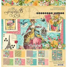 "Graphic 45 Collection Pack 12x12"" - Ephemera Queen"
