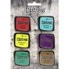 Tim Holtz Distress Enamel Collector Pins - Collection Set #2 (broche-nåle)