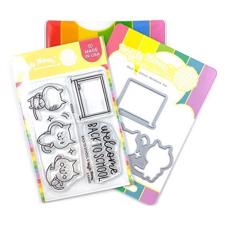 Waffle Flower Clear Stamp & Die Combo - Back to School