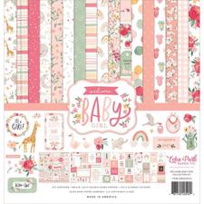 "Echo Park Paper Collection Pack 12x12"" - Welcome Baby Girl"