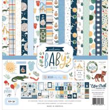 "Echo Park Paper Collection Pack 12x12"" - Welcome Baby Boy"