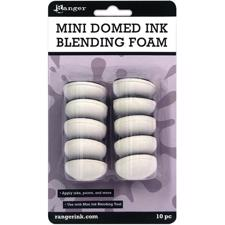 Tim Holtz / Round Ink Blending Tool - DOMED Replacement Foams (10-pak) - NEW
