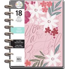 Happy Planner MEDIUM - Spring Garden (STD) juli 2021/dec 2022