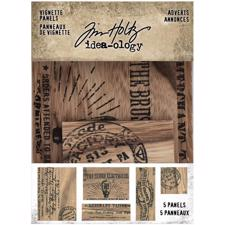 Tim Holtz / Idea-ology - Vignette Panel Adverts