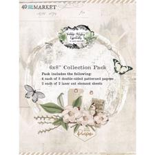 "49 and Market Collection Pack 6x8"" - Vintage Artistry Essentials"