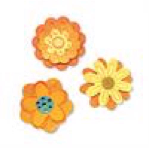 Sizzlits Die Set - Flower Layers Set