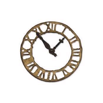 Tim Holtz / Sizzix Die - Bigz / Weathered Clock