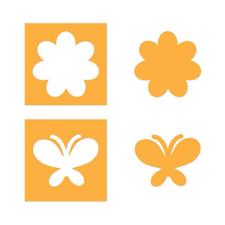 Sizzix Movers & Shapers - Flower & Butterfly Set / Stephanie Barnard