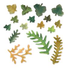 Sizzix Thinlits - Susan's Garden / Fern & Ivy Leaves