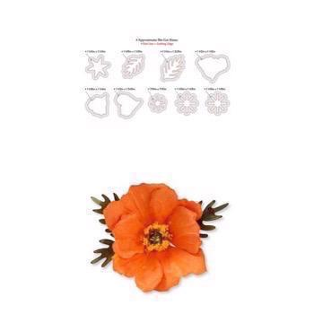 Sizzix Thinlits - Susan's Garden / Poppy Flower