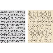 Sizzix Texture Embossing Folders - Tim Holtz / Typewriter & Keyboard