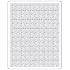 Sizzix Texture Embossing Folder - Tim Holtz / Houndstooth