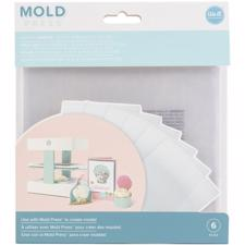 WRMK 3D Mold Press - Clear Plastic Sheets (6 pcs)