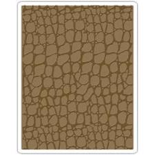 Sizzix Embossing Folder - Tim Holtz / Croc