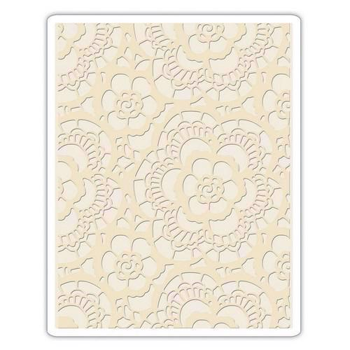 Sizzix Embossing Folder - Tim Holtz / Lace