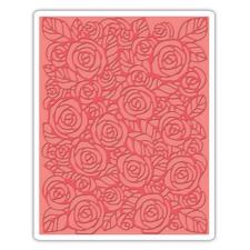 Sizzix Embossing Folder - Tim Holtz / Roses
