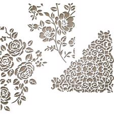 Sizzix Thinlits - Tim Holtz /  Mixed Media #5 (floral)