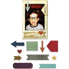 Sizzix Thinlits - Tim Holtz / Pocket Frame