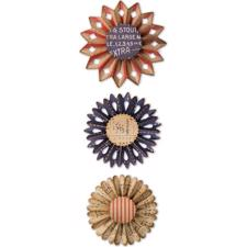 Sizzix Thinlits - Tim Holtz / Rosette Set