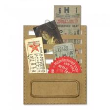 Sizzix Thinlits - Tim Holtz / Stitched Slots