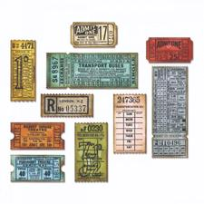 Sizzix Thinlits - Tim Holtz / Ticket Booth