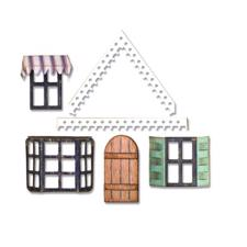 Sizzix Thinlits - Tim Holtz /  Village Fixer Upper