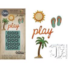 Tim Holtz Sizzix Thinlits - SideOrder Set / Beach