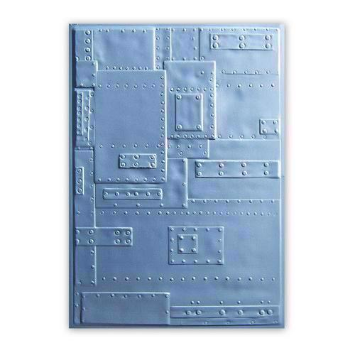 Sizzix 3D Embossing Folder - Tim Holtz / Foundry (Rivets)